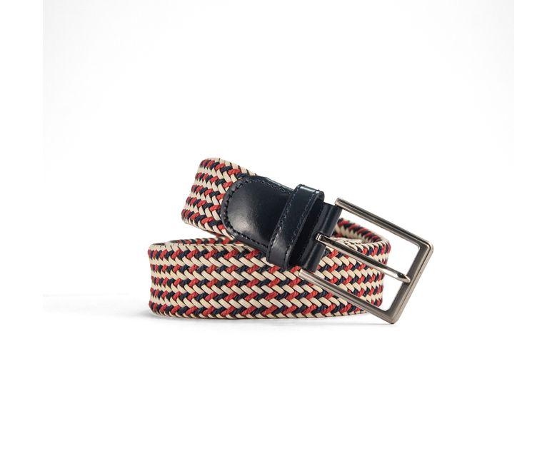 Cinturon-tejido-blanco-rojo-cinturon-hombre