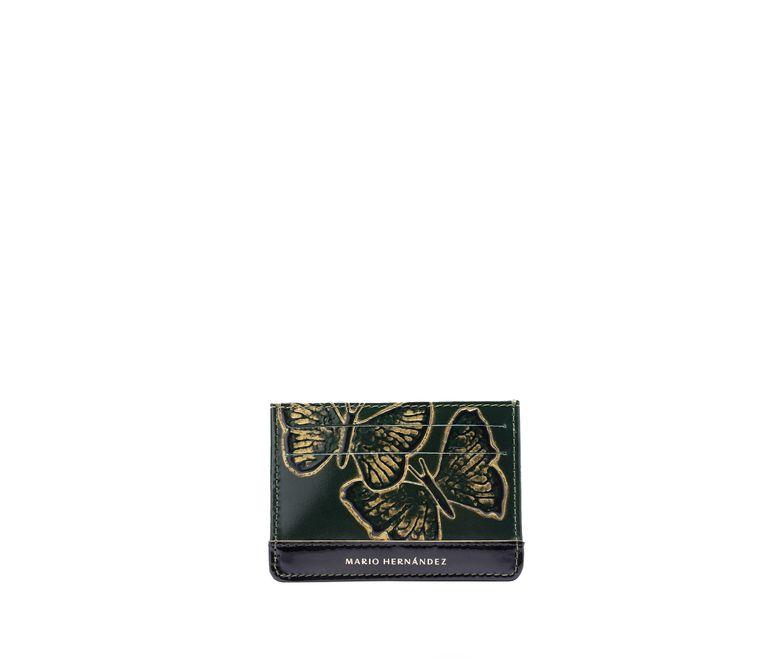 Tarjetero-plano-esmeralda-mariposas