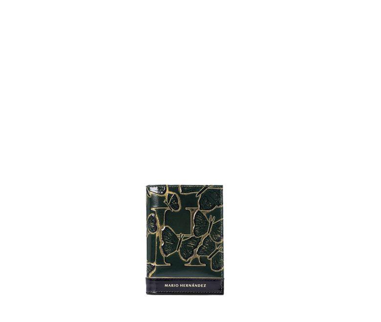 Portapasaporte-sencillo-esmeralda-mariposas