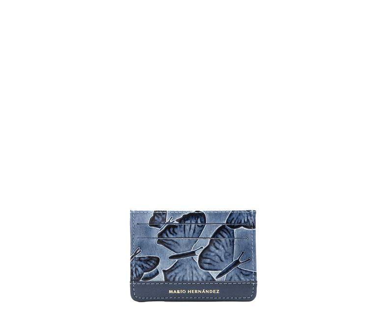Tarjetero-plano-azul-mariposas